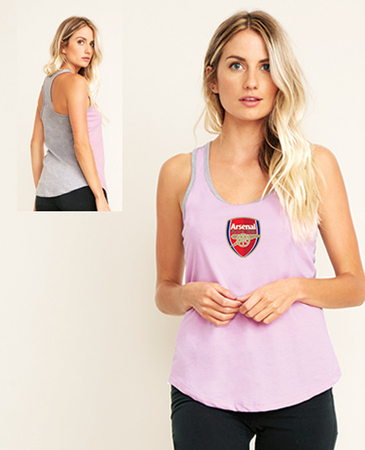 Arsenal Racerback Tank Main