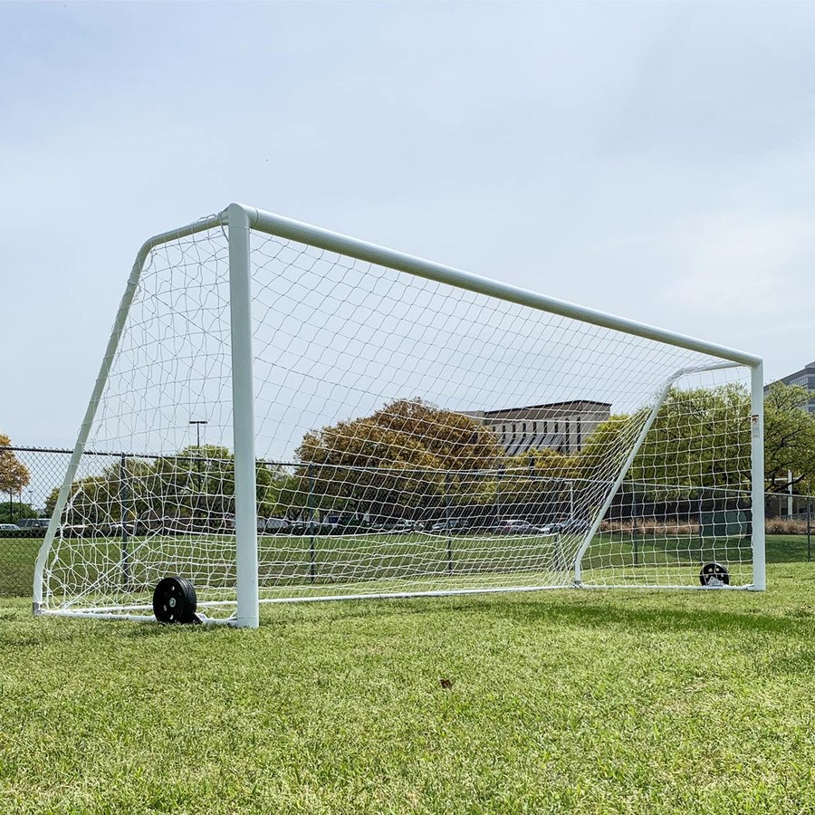 Regulation 8x24 Premier Pro Soccer Goals | Soccer Training Equipment Regulation Soccer Goals