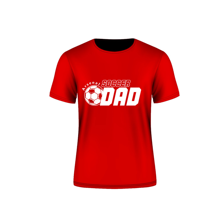 ARSENAL SOCCER DAD T-SHIRT 2