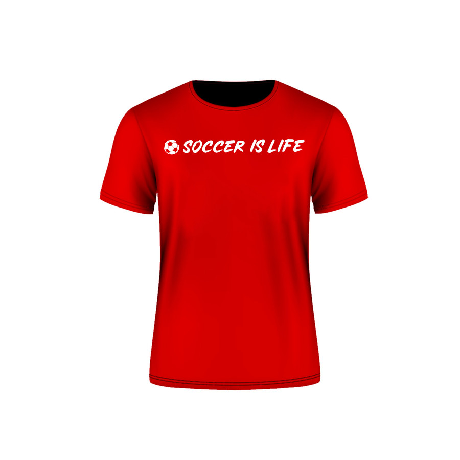 Red Arsenal Soccer is Life T-Shirt