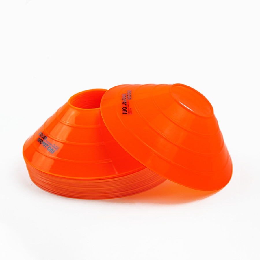 Orange Quality Disc Cones