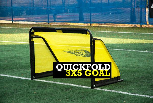 3x5 Portable Soccer Goal Quick Fold