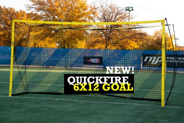 6x12 Portable Bow Soccer Goal