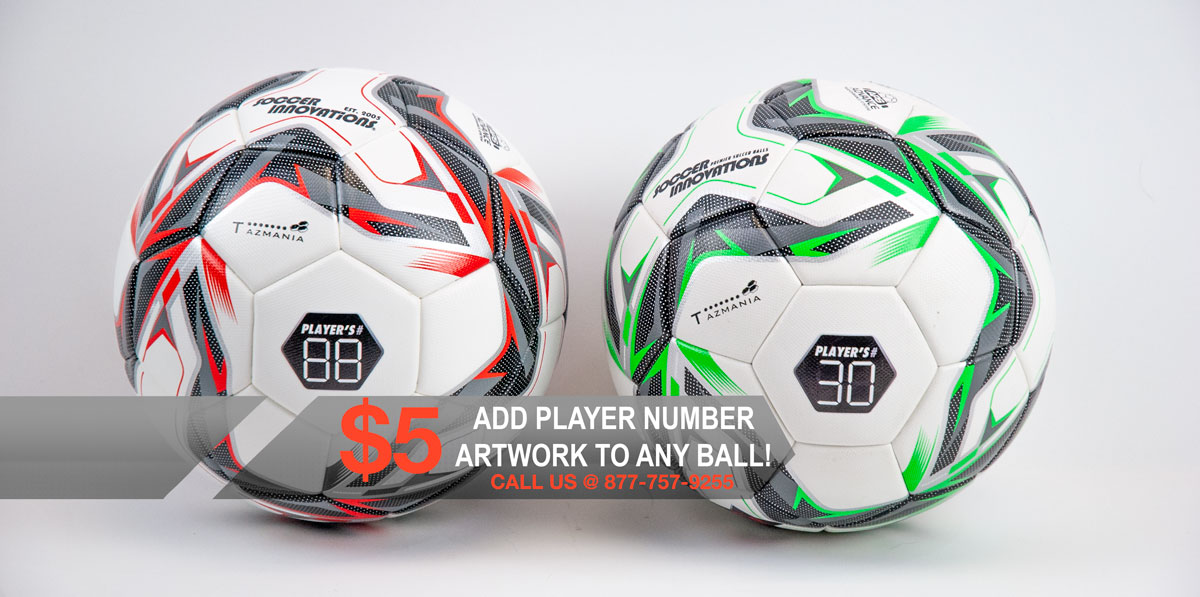 Custom Soccer Ball Number
