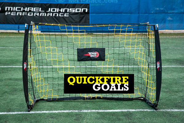 Portable Bow Soccer Goals