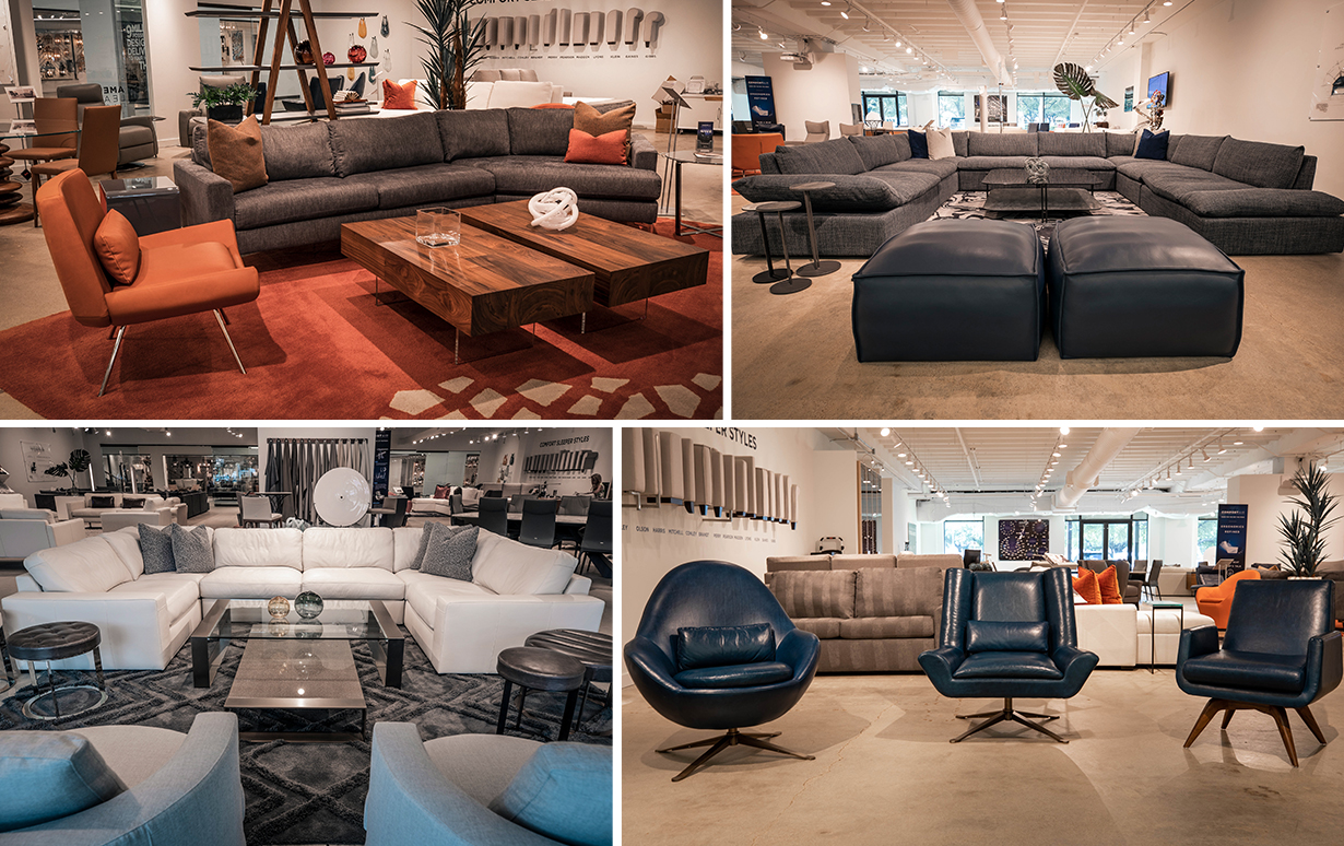 American Leather Innovation Showroom
