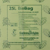 25 litre Biodegradable & Compostable Liners