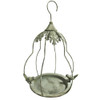 Hanging Bird Feeder in Airy Pear Bird Cage Shape