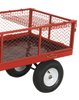 Platform Truck With Sides Pneumatic Tyres 450KG Capacity