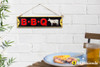 Embossed Metal Sign - BBQ
