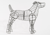 Dog (Jack Russell) Topiary Frame