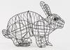 Running Rabbit Small Topiary Frame