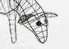 Lamb Topiary Frame - Head Down