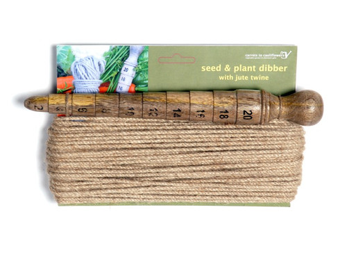 Seed & Plant Dibber with jute twine