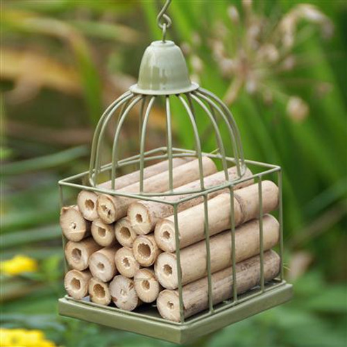Gazebo / Bird Cage Insect House - GREEN