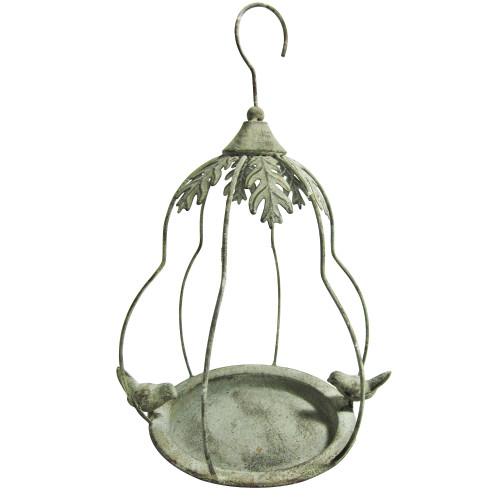 Hanging Bird Feeder in Airy Pear Bird Cage Shape