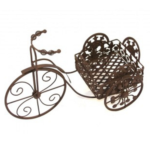 Marvell's Wrought Iron Tricycle Planter