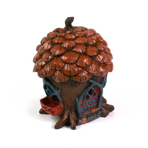 The Pine Cone Cottage Fairy Home
