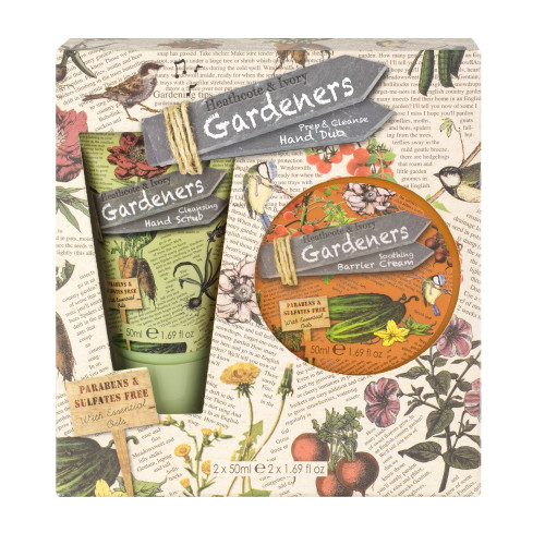 Gardeners Prep and Cleanse Hand Duo 50 ml - Gift boxed