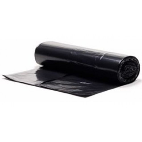 140 Litre Superior Black Recycled Small Wheelie Bin Liners (A Pack of 4 Rolls)
