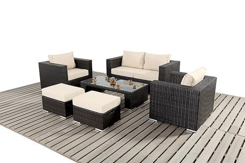 Rapallo Rattan Small Sofa Set