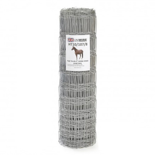 HT10/107/8 25M High Tensile Horse Wire Fencing