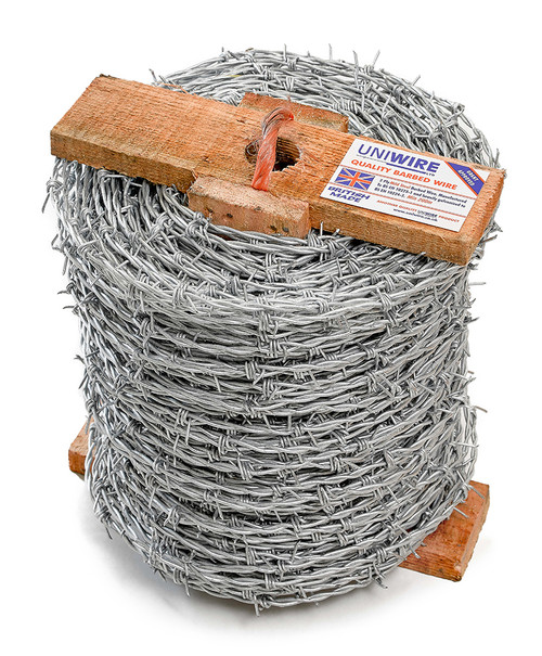 Barbican 200M Mild Steel Barbed Wire
