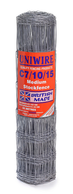 C7/10/15 50M Medium Grade Stock Fencing