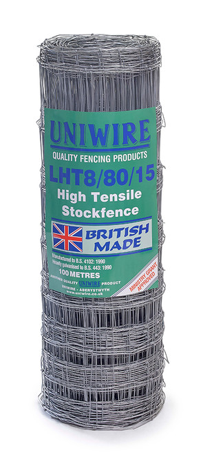 LHT8/80/15 100M High Tensile Stock Fencing