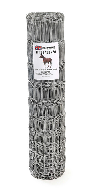 HT11/127/8 50M High Tensile Horse Wire Fencing