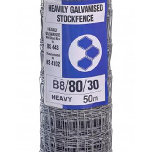 B8/80/30 50M Heavy Grade Stock Fencing