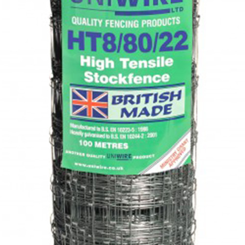 HT8/80/22 100M High Tensile Stock Fencing