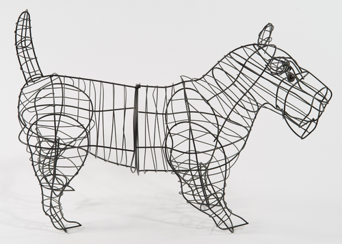 Dog (Scottie) Topiary Frame