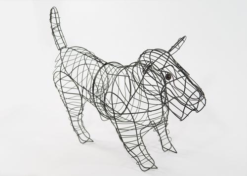 Dog (Scottie) Topiary Frame - Gardening Delights