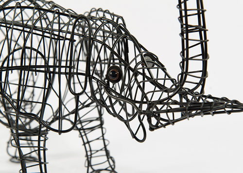 Small Elephant Topiary Frame