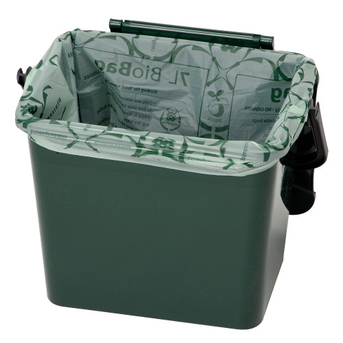 7 litre (26) Biodegradable & Compostable Bin Liners