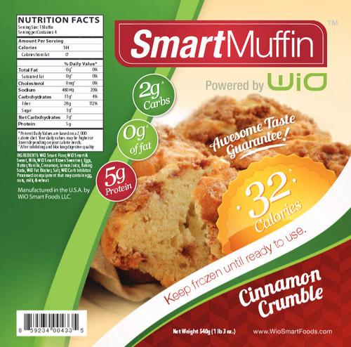 WiO SmartMuffins - Cinnamon Crumble