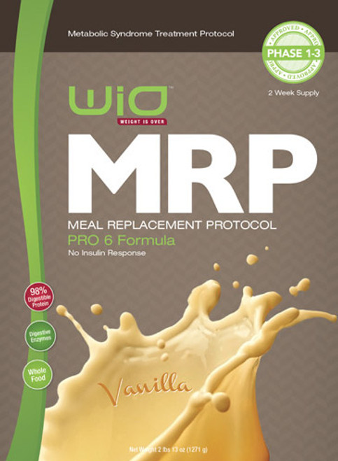 MRP Meal Replacement Shake - Vanilla PRO 6