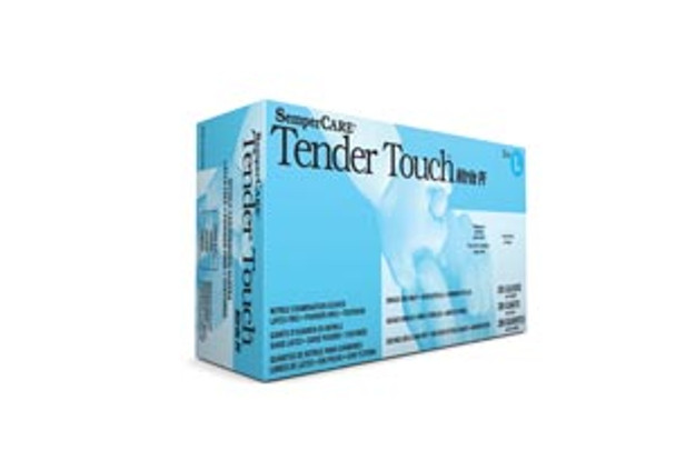 Sempercare Tender Touch Nitrile Exam Gloves, Medium