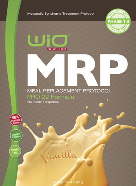 MRP Meal Replacement Shake - Vanilla PRO 22