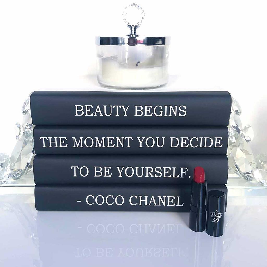 Scarlett Red Lipstick Vegan cruelty-free Dawes Custom Cosmetics