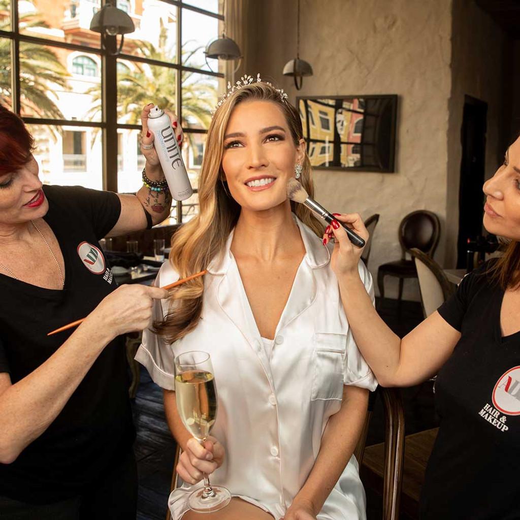Custom Lipstick Bar Las Vegas - bridal hair and makeup - Dawes Custom Cosmetics
