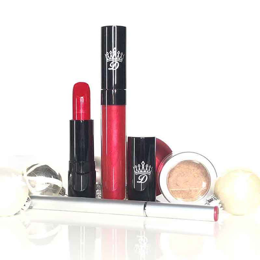 Seduction Red Christmas Gift Sets by Dawes Custom Cosmetics