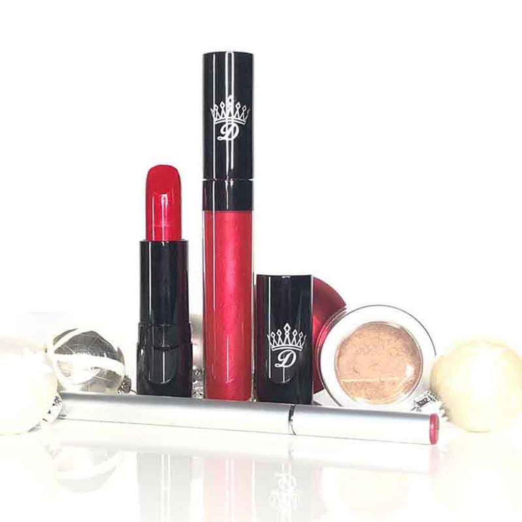 Seduction Red Christmas Gift Sets by Dawes Custom Cosmetics