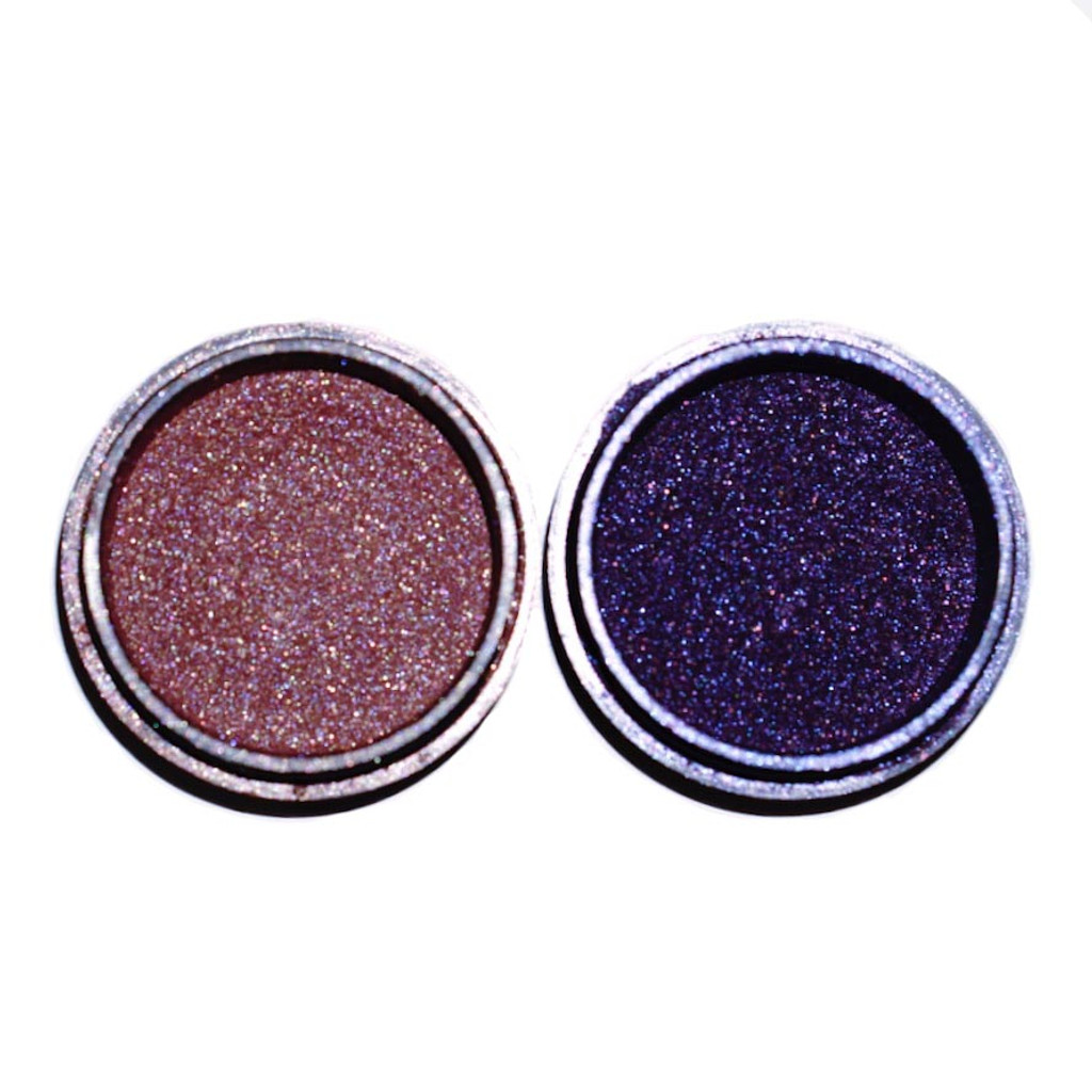 power in purple collection eyeshadows dawes custom cosmetics