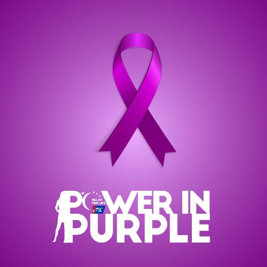 Dawes Custom Cosmetics Power in Purple daytime collection for American Cancer Society