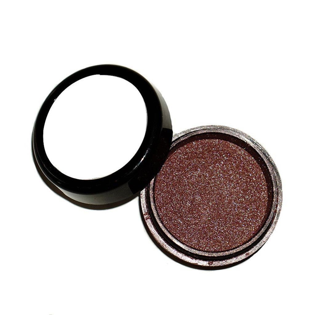 Dawes Custom Cosmetics Power in Purple daytime collection metallic eyeshadow for American Cancer Society
