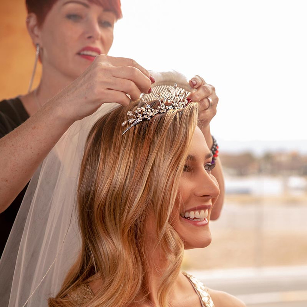 Wedding party Makeup and Custom Lipstick Bar Las Vegas - Dawes Custom Cosmetics