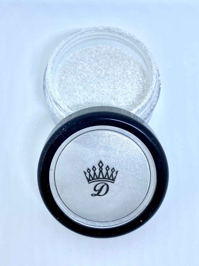 Plastic free glitter lipstick topper diamond dust Dawes Custom Cosmetics