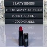 Scarlett O'Hara Red Lipstick cruelty free Dawes Custom Cosmetics